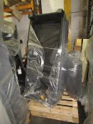 A pallet of 1x raw return sofa  unchecked  untested  returns of various grade -  could be of the