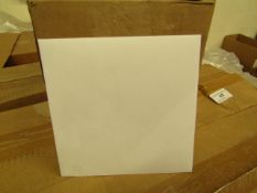 Box of 750 Gummed Bankers Envelopes. 143mm x 143mm. Unused & Boxed (White).