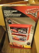 Disney cars Storage Unit. Unchecked & Boxed