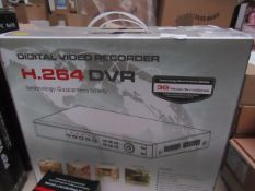 Digital Video Recorder H.264 multi-purpose, unchecked and boxed. Over 10x various functions
