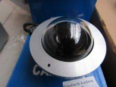 4x CCD - Vandal proof Digital Dome Camera - Untested & Boxed. | Compatible with DVR's