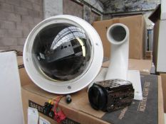 Cop Security full PTZ camera set with spare wall bracket, vendor suggests tested working and