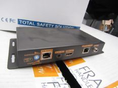 Cop Security 15-HS102TR-U 1 x 2 HDMI splitter / repeater, vendor suggests tested working and we HAVE
