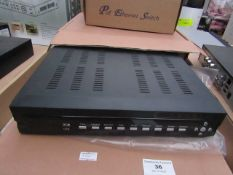 4/16 Channel DVR System - Untested & Boxed. | Compatible with digital cameras