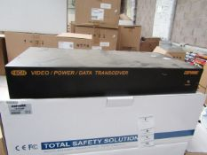 Cop Security 16 channel video, power and data transceiver, vendor suggests tested working and we