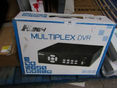 MultiPlex DVR - H.264 - Untested & Boxed.