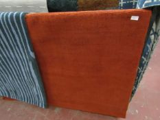 | 1X | JAGO 160 X 230CM ORANGE RUG | EX-DISPLAY (USED) | RRP - £229 | NO GUARANTEE) |