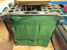 Rectangle Garden Tool Holding Rack - 58x31x60cm - Looks New.