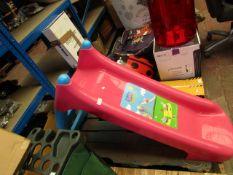 Peppa - Peppa Pig Pink Slide (H 80 X L 120cm Approx) - Looks New.