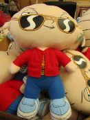 Family Guy Stewie 54cm teddy. See Image For Design. Unused with Tags