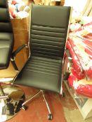 Costco Gas Lift Office/Desk Chair. Unused