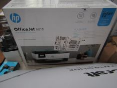 HP OfficeJet 8015 wireless multi-functional printer, unchecked and boxed.