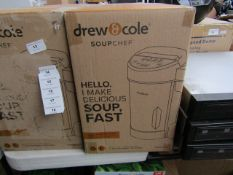 | 1X | DREW AND COLE SOUP CHEF | BOXED AND REFURBISHED | NO ONLINE RESALE | SKU C 5060541516809 |