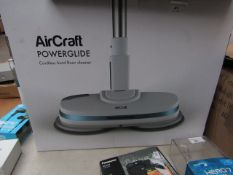 AirCraft Powerglide Cordless Hard Floor Cleaner, unchecked and boxed. RRP £199.99