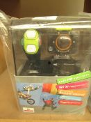 Full HD Action Cam. New & Boxed