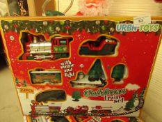 Urbn Toys Christmas Train Set. Looks Unused & Complete