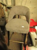 Bar Stool.Needs a good clean and attention to the legs