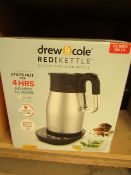   1X   DREW AND COLE REDIKETTLE 1.7L   TESTED WORKING BUT UNBOXED   NO ONLINE RE-SALE   SKU