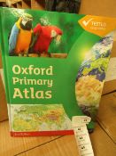 Box of 20 x Oxford Primary Atlas's. 2nd edition. RRP £12.99 Each. Unused & Boxed