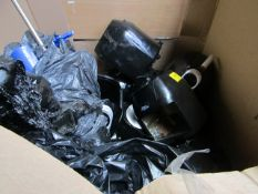 | 1X | PALLET OF APPROX 30-40 VARIOUS SIZED POWER FRYERS, AND PRESSURE KING PROS ALL RAW CUSTOMER