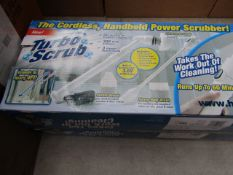 | 2X | TURBO SCRUB CORDLESS HAND HELD POWER SCRUBBER | UNCHECKED AND BOXED | SKU C5060191466233 |