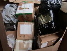 | 1X | PALLET OF APPROX 30 - 35 ITEMS BEING PRESSURE COOKERS, AIR FRYERS, COPPER CHEFS,