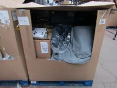 | 1X | PALLET OF APPROX 20X VARIOUS KITCHEN ELECTRICAL ITEMS AND AIR BEDS | ALL ITEMS UNCHECKED | NO