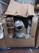 | 1X | PALLET OF APPROX 20X VARIOUS KITCHEN ELECTRICAL ITEMS | ALL ITEMS UNCHECKED | NO ONLINE