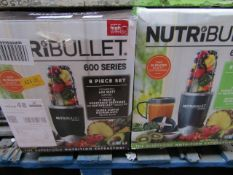 | 2X | NUTRI BULLET 600 SERIES | UNCHECKED AND BOXED | NO ONLINE RESALE | SKU C5060191467346 |
