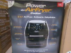 | 6X | POWER AIR FRYER COOKERS | UNCHECKED AND BOXED SOME MAY BE IN NON PICTURE BROWN BOXES| NO