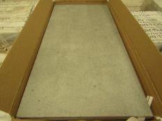10x Packs of 5 Sherwood smoke Matt finish 300x600 wall and Floor Tiles By Johnsons, New, the RRP per