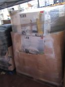   1X   PALLET OF APPROX 25-35 VARIOUS SIZED AIR BEDS, ALL RAW CUSTOMER RETURNS   UNCHECKED   NO