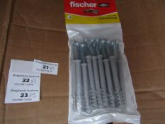 5x Fischer - Frame Fixing 8 x 80 (Packs of 16) - New & Packaged.