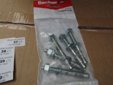 5x Fischer - Frame Fixing 8 x 100 (Packs of 16) - New & Packaged.