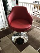 Furniture in Fashion Backeteer Patrol pedestal chair, brand new and boxed. | PLEASE NOTE, picture is