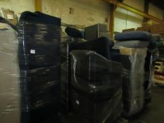| 13X | PALLETS OF SWOON B.E.R FURNITURE AND SOFAS, ALL CUSTOMER RETURNS UNCHECKED FOR THE EXTENT OF