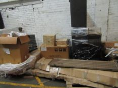| 4X | PALLET OF SWOON B.E.R FURNITURE, UNMANIFESTED, WE HAVE NO IDEA WHAT IS ON THESE PALLETS OR