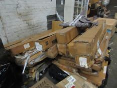 | 2X | PALLET OF SWOON B.E.R BED FRAME PARTS, UNMANIFESTED, WE HAVE NO IDEA WHAT IS ON THESE