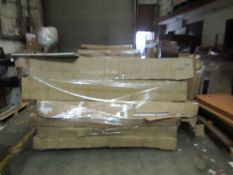 | 2x | OVERSIZED PALLETS OF YARK BUILD YOUR OWN CUSTOM BED PARTS, THE 2 PALLETS CONTAINS MIXTURE