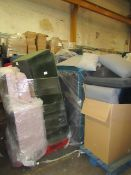 | 9X | PALLETS OF SWOON B.E.R FURNITURE AND SOFAS, ALL CUSTOMER RETURNS UNCHECKED FOR THE EXTENT