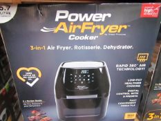 | 4X | POWER AIR FRYER COOKERS | UNCHECKED AND BOXED SOME MAY BE IN NON PICTURE BROWN BOXES| NO