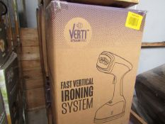| 3X | VERTI STEAM PRO'S | UNCHECKED AND BOXED | NO ONLINE RESALE | RRP £43.99 |TOTAL LOT RRP £87.98