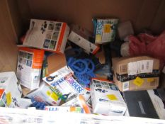 | 1X | PALLET OF APPROX 20 -25 VARIOUS XHOSES AND PAINT RUNNER PROS | ALL ITEMS UNCHECKED SOME BOXED
