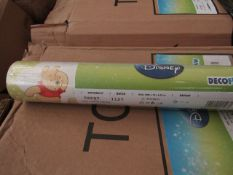 Box of 12 Rolls of Winnie The pooh Wallpaper. Packaged.