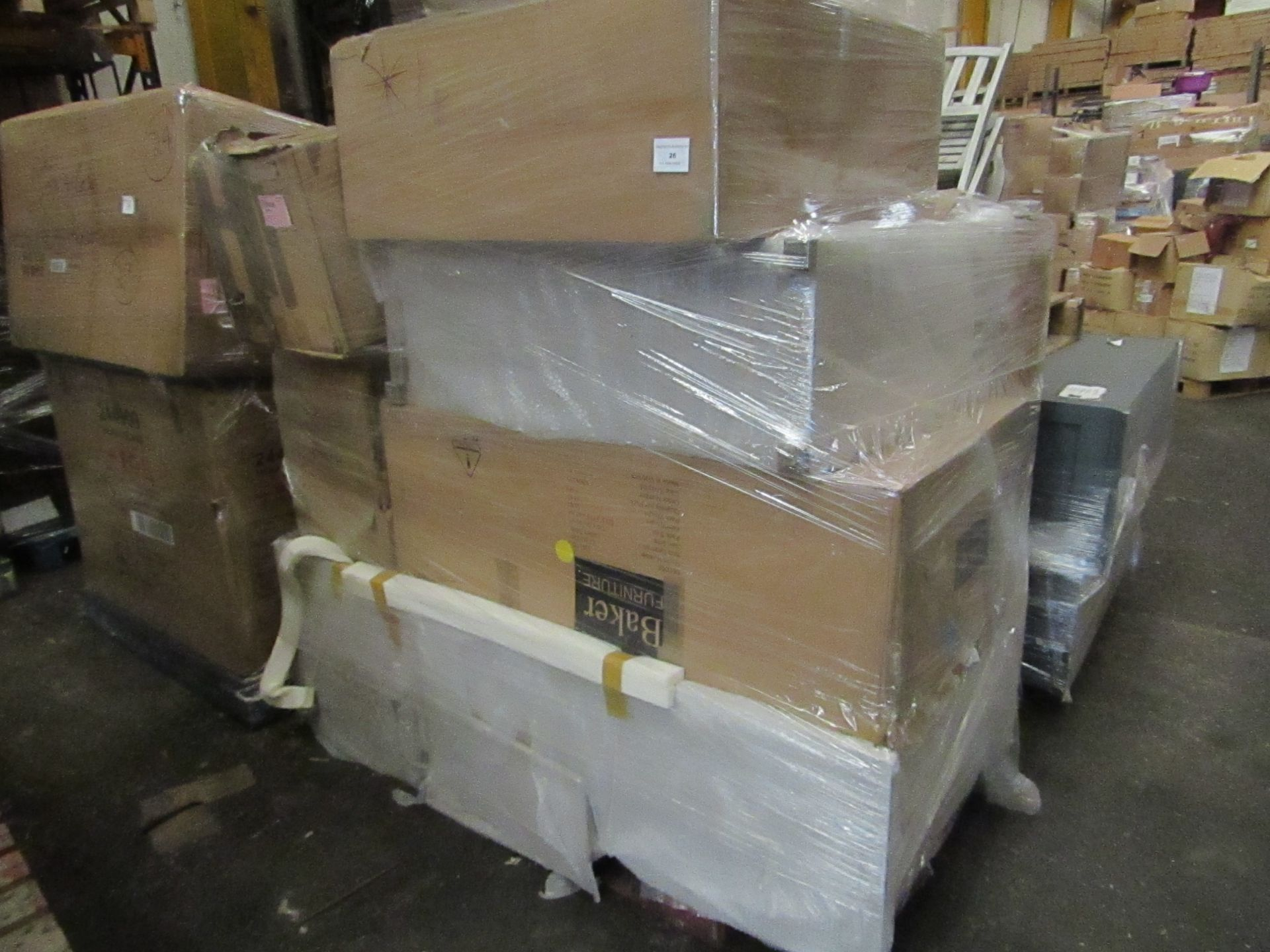 | 1X | PALLET OF COX AND COX B.E.R FURNITURE, UNMANIFESTED, WE HAVE NO IDEA WHAT IS ON THESE