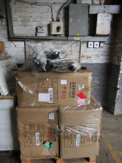 Pallets of Swoon furniture, fresh load of raw customer returns and bulk clothing pallets