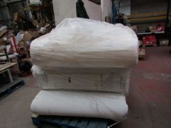 Pallets of raw customer return Yawn Air beds, Verti steamers and mattresses