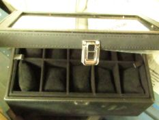 Black Jewellery Box. Unchecked
