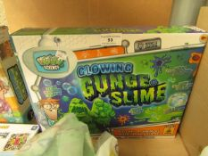 Weird Science Glowing Gunge Slime. Boxed