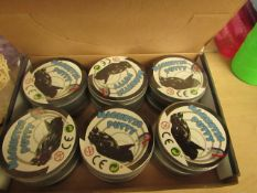 12 x Tins of magnetic Putty. All new & Sealed